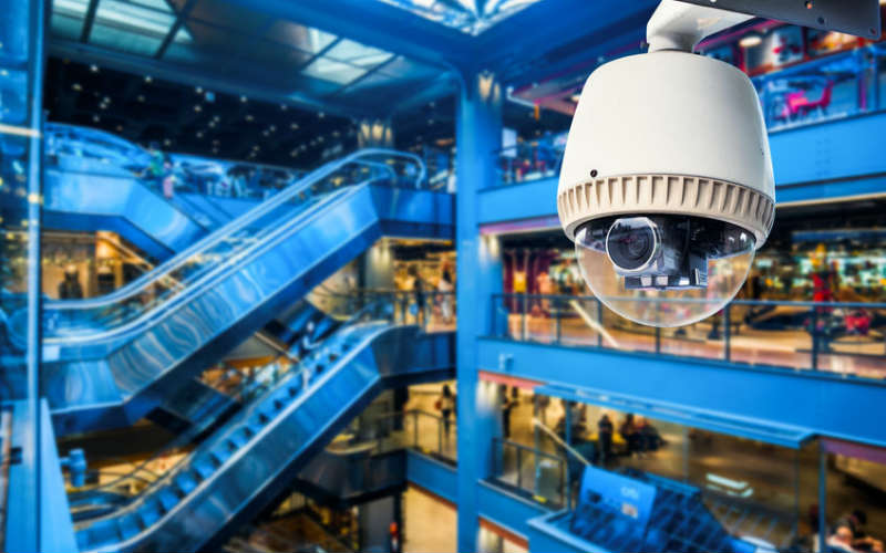 CCTV-camera-in-shopping-centre